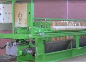 Aqua Traitements Saint Victoret Location d'Unités de Traitement Filtre presse transportable « Choquennet »
