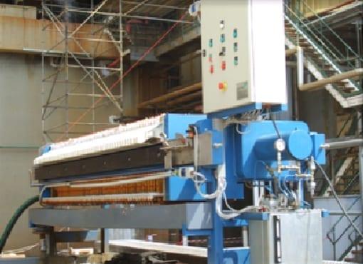 Aqua Traitements Saint Victoret Location d'Unités de Traitement Filtre presse transportable Dafim
